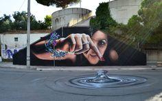 Cheone - Italian Street Artist - Campomarino (IT) - 07/2015 -  \*/  #cheone #streetart #italy