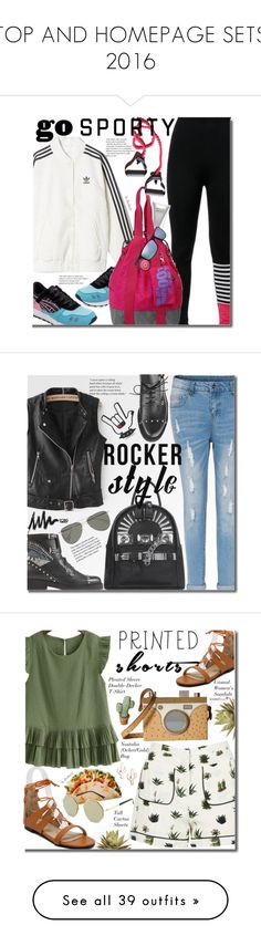 """""""TOP AND HOMEPAGE SETS 2016"""" by beebeely-look ❤ liked on Polyvore featuring top, interior, decor, HOMEPAGE, Molton Brown, adidas, Arnette, sneakers, sportystyle and twinkledeals"""