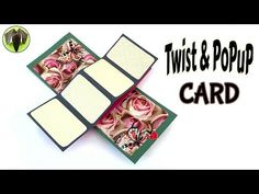 """Twist & POPUP Card"""" - DIY Tutorial by Paper Folds ❤️ - YouTube"""