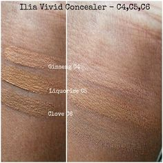A review of ILIA Vivid Concealers with swatches by @w0nderlusting #ILIAbeauty #makeup