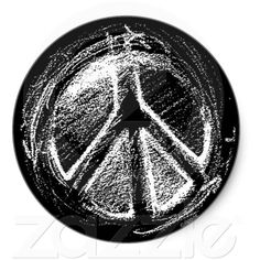 Grunge Urban Peace Sign Sketch Sticker ($5.25) ❤ liked on Polyvore