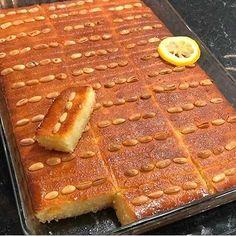 Damask dessert recipeam Mazda description 1 box of semolina will be 500 g 2 cups of yogurt / 2 . Egyptian Food, Bread And Pastries, Middle Eastern Recipes, Iftar, Turkish Recipes, Something Sweet, Ramadan, Sweet Recipes, Bakery