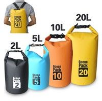 Wish | Premium Lightweight Dry Sack/Dry Bags -Fits Perfectly in Your Backpack