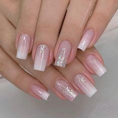 Manicure Nail Designs, Nail Manicure, Gel Nails, Elegant Nails, Stylish Nails, Fancy Nails, Pink Nails, Blue Nail, Colorful Nail Designs