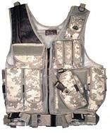 Deluxe Quick Draw Tactical Vest ST26A Digital Camo