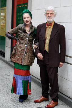 Are they a perfect couple or what?  20 Of The Most Stylish Senior Couples Ever