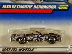 I always collected and played with hot wheels cars as a kid. My two Hemi Cuda's and my Ferrari 512 Testarossa were my favorites. This is a good example of my collector and storyteller personalities.