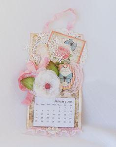Graphic 45 Botanical Tea Calendar
