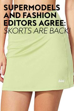This divisive 1990s trend is having a resurgence, and after testing it myself, I'm staunchly pro. #skorts #fashion #summerfashion 1990s Trends, Skorts, City Chic, Fashion Editor, Supermodels, Thrifting, Fashion Photography, Mini Skirts, Street Style