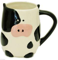 Cow Coffee Mug 3D Tea Cup NEW