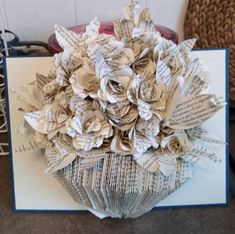 Genere, Book Pages, Burlap Wreath, Book Art, Craft Projects, Patterns, Books, Decorated Notebooks, Block Prints