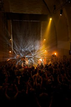 Hillsong CHAPEL - Yahweh Album Recording Youth Conference, Stage Background, Church Stage Design, Concert Stage, Stage Set, Stage Lighting, Installation Art, Concerts, Staging