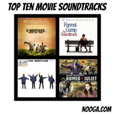 Top Ten movie soundtracks. What are yours?