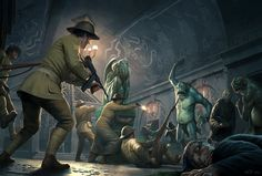 the Raid on Innsmouth