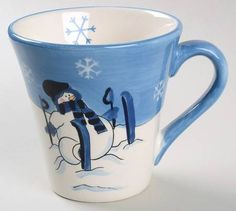Canterbury Potteries Snow Valley Mug