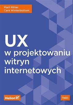 Okładka książki/ebooka UX w projektowaniu witryn internetowych Ux, Banner, User Experience, Black Friday, Banner Stands, Banners