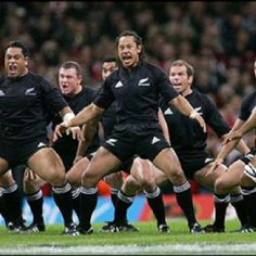 Listen to music from All Blacks (Rugby New Zeland) like Haka Pokarekareana (Maori war chant), NZ Rugby - Haka & more. Find the latest tracks, albums, and images from All Blacks (Rugby New Zeland). All Blacks Rugby Team, Nz All Blacks, Rugby Sport, Rugby Club, Softball, Baseball, Rugby League, Rugby Players, Son Hak
