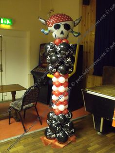 pirate partytable supplies | Wedding Balloons Fresh & Silk Flowers Pew End Bows Chair Cover Hire ...