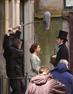 Does anyone else enjoy seeing behind the scenes pictures of the film crew?