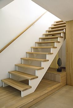 This is also true for that basement stairs. Loft Stairs, Basement Stairs, House Stairs, Stairs And Doors, Take The Stairs, Rustic Staircase, Painted Staircases, Escalier Design, Stair Walls