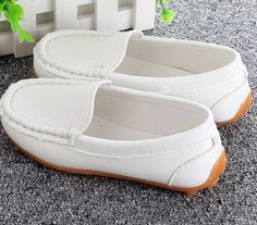 Ho-Boys-Girls-Casual-Oxfords-Baby-Flats-Comfort-Loafer-Shoes-Kids-Slip-On-Shoes