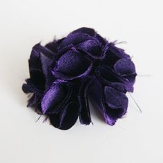 This is the fabric flower tutorial I was looking for! And you can just hot glue it to a headband. Score!
