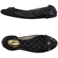**OWN** Michael Michael Kors Ballet Flats ($125) ❤ liked on Polyvore featuring shoes, flats, black, ballet flats, black skimmer, black bow flats, leather ballet flats and black flat shoes