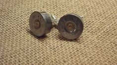 Recycled 12G remington shotgun shell bullet mens country rustic redneck wedding cuff links groomsmen gift on Etsy, $12.00