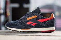 7a2f9cb761016d Reebok Classic Leather Utility Reebok Navy Stadium Red Sandtrap Black   Celebrating the anniversary of the silhouette