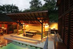 filipino architecture - Bing Images Filipino Architecture, Gazebo, Pergola, Bahay Kubo, Tropical Houses, Beautiful Architecture, Open Plan, Indoor, Outdoor Structures