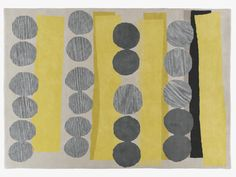 HAPPER Grey and yellow hand tufted wool rug 170 x 240cm - HabitatUK gorgeous, wished they shipped outside uk :(