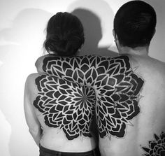 tatuajes mandala para parejas