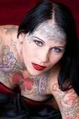 face tattooed girls - Google Search