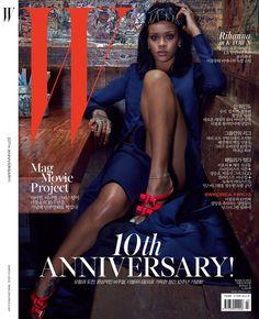 Which Rihanna W Magazine Korea Cover Is The Best? W Magazine, Fashion Magazine Cover, Fashion Cover, Magazine Covers, Leonardo Dicaprio, Dark Man, Rihanna Cover, Rihanna Hairstyles, W Korea