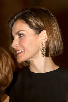 Queen Letizia attends a official reception at the Almudaina Palace on August 5, 2015 in Palma de Mallorca, Spain.