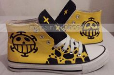 one piece anime shoes high-top one piece shoes for men/woemn/kid,High-top Painted Canvas Shoes