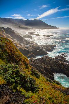 Big Sur Coastline, California; photo by Clint Losee