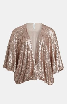 Mural Sequin Shrug available at #Nordstrom