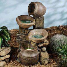 Small Unique Water Fountains Backyard And Garden Fountain