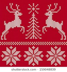 Sweater with deers. Sweater with deers. Cross Stitch Letter Patterns, Cross Stitch Geometric, Xmas Cross Stitch, Cross Stitch Letters, Cross Stitch Borders, Cross Stitch Embroidery, Stitch Patterns, Knitted Christmas Stockings, Christmas Knitting
