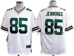 http://www.yjersey.com/nike-packers-85-jennings-white-game-jerseys-discount.html NIKE PACKERS 85 JENNINGS WHITE GAME JERSEYS DISCOUNT Only $36.00 , Free Shipping!