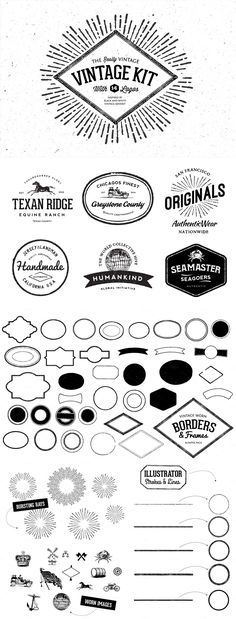 The Ultimate Creative Vector Elements Collection | Design Cuts