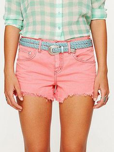 Free People Colored denim...yes please!!
