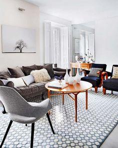 love the velvet sofa