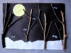 Nighttime creatures craft…nocturnal animals craft Source by Halloween Crafts For Toddlers, Toddler Crafts, Diy Crafts For Kids, Art For Kids, Craft Kids, Halloween Arts And Crafts, Halloween Projects, Halloween Crafts For Kindergarten, Bat Craft