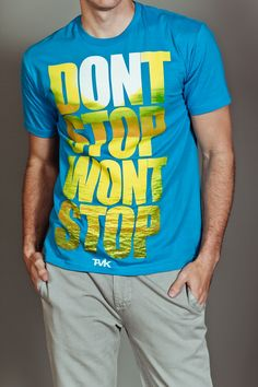 JackThreads - Don't Stop Tee Blue