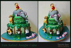Fun Safari Jungle Cake