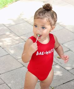 """one ❤ Gorgeous baby girl """"Bae Watch"""" So Cute Baby, Cute Mixed Babies, Baby Kind, Pretty Baby, Cute Babies, Cute Kids Fashion, Baby Girl Fashion, Beautiful Children, Beautiful Babies"""