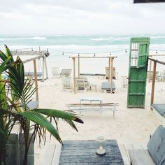 TULUM TRAVEL GUIDE - the first night we went to a restaurant called posada margherita. (above) ginger margaritas, an awesome setting, and delicious pasta.