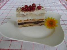 Ovocné rezy nepečené - Recept Dessert Recipes, Desserts, Tiramisu, Ale, Cheesecake, Treats, Ethnic Recipes, Food, Tailgate Desserts